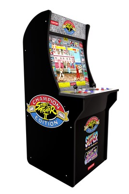 Street Fighter II Championship Cabinet from Tastemakers (CNW Group/Tastemakers, LLC)