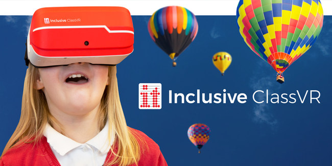 The first virtual reality system designed for special education classrooms!