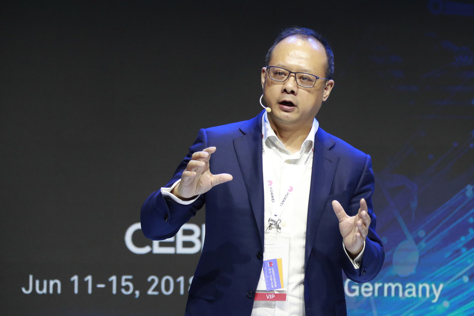 Vincent Pang, president of Huawei West Europe Region