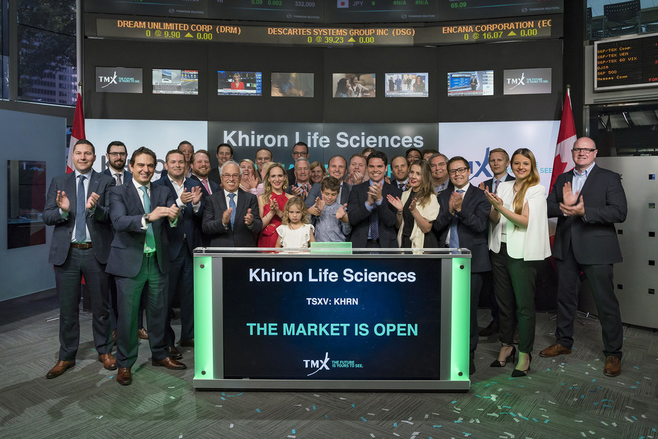 Khiron Life Sciences Corp. Opens the Market (CNW Group/TMX Group Limited)