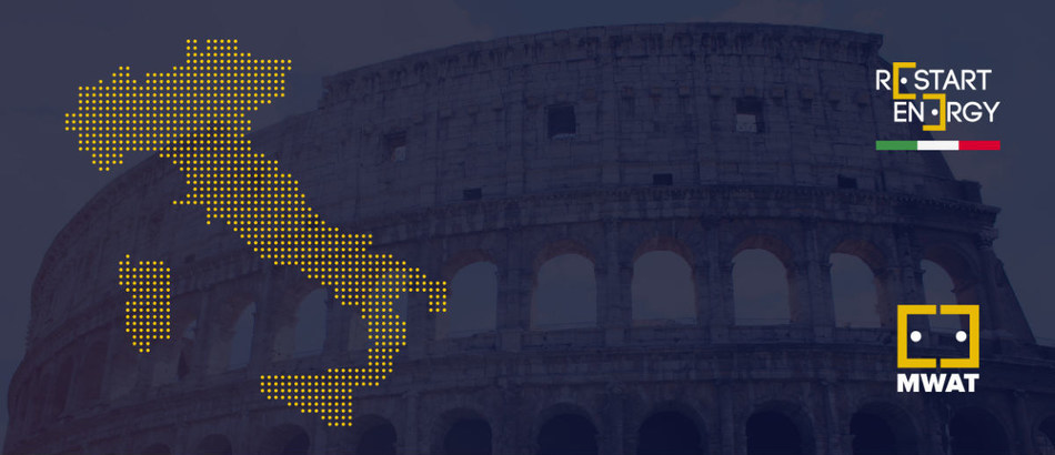 Restart Energy Democracy (RED) Opens its First Type A Franchise in Italy (PRNewsfoto/Restart Energy Democracy (RED))