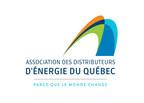 Logo : Association des distributeurs d'énergie du Québec (Groupe CNW/Association des distributeurs d'énergie du Québec)