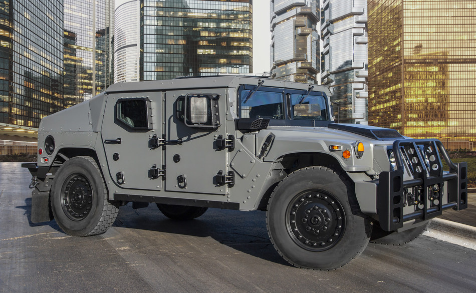 AM General's next generation light tactical vehicle, the NXT 360