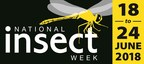 The Royal Entomological Society's National Insect Week Logo (PRNewsfoto/National Insect Week 2018)