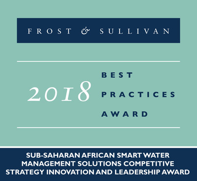 2018 Sub-Saharan African Smart Water Management Solutions Competitive Strategy Innovation and Leadership Award