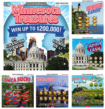 Minnesota Treasures Playbook Mini™ (CNW Group/Pollard Banknote Limited)