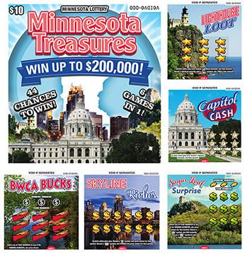 Minnesota Treasures Playbook Mini™ (CNW Group/Pollard Banknote Limited)