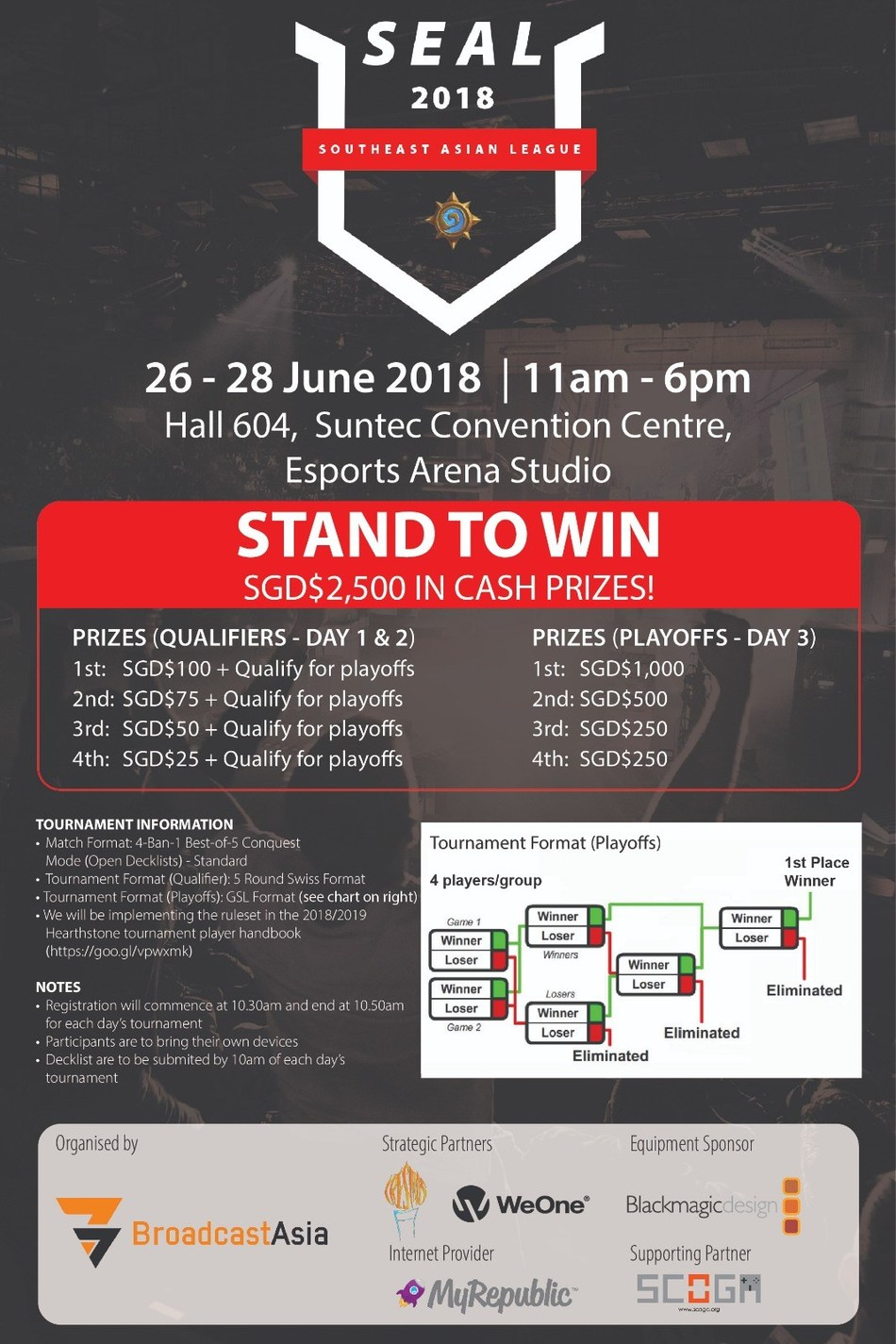 Southeast Asian League 2018 at BroadcastAsia
