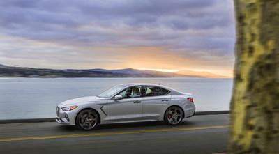 2019 Genesis G70 luxury sport sedan, designed to perform.