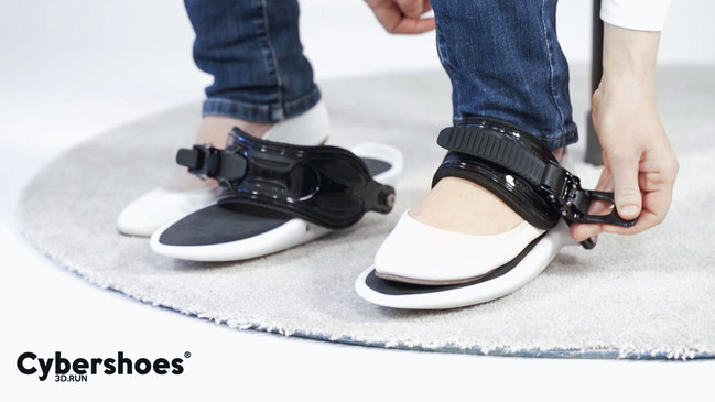 Virtual reality enthusiasts can step into new worlds like never before with the introduction of Cybershoes®, (https://www.cybershoes.io/ ), an affordable, innovative VR accessory that is worn on your feet, and allows you to literally walk, run or flee through virtual reality, at the Electronic Entertainment Expo on June 12-14, 2018. (Booth #2355)