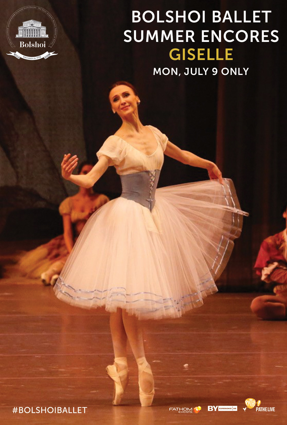 The Bolshoi Ballet Returns to U S  Cinemas This July With First-Ever