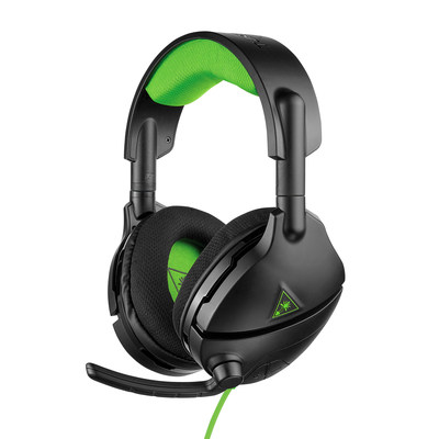 The Turtle Beach� Stealth 300 is the latest amplified stereo gaming  headset for consoles that delivers powerful game and chat audio through large 50mm over-ear speakers.