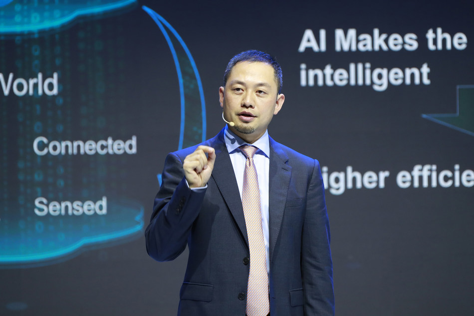 Qiu Heng, President of Global Marketing der Enterprise Business Group von Huawei (PRNewsfoto/Huawei)