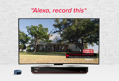DISH presents new Amazon Alexa controls.