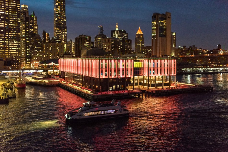 Pier 17 at the Seaport District NYC, image by C. Taylor Crothers