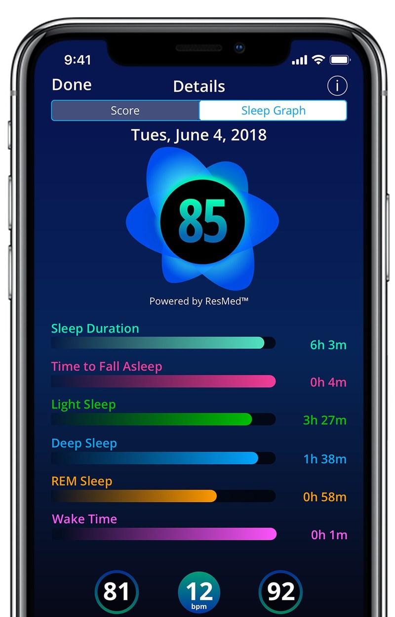 SleepScore Official Sleep Tracking App