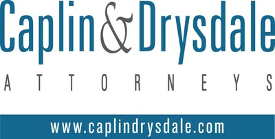 Caplin & Drysdale, Chartered. (PRNewsFoto/Caplin & Drysdale) (PRNewsfoto/Caplin & Drysdale)