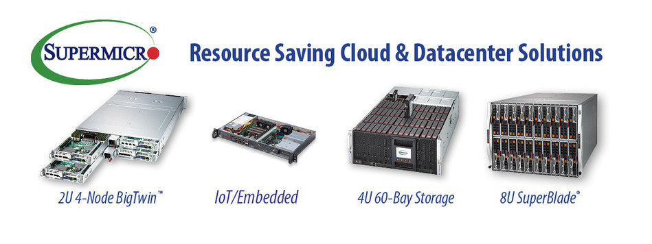 Supermicro Resource Saving Servers deliver Cost Savings, Maximize Performance and Reduce e-Waste