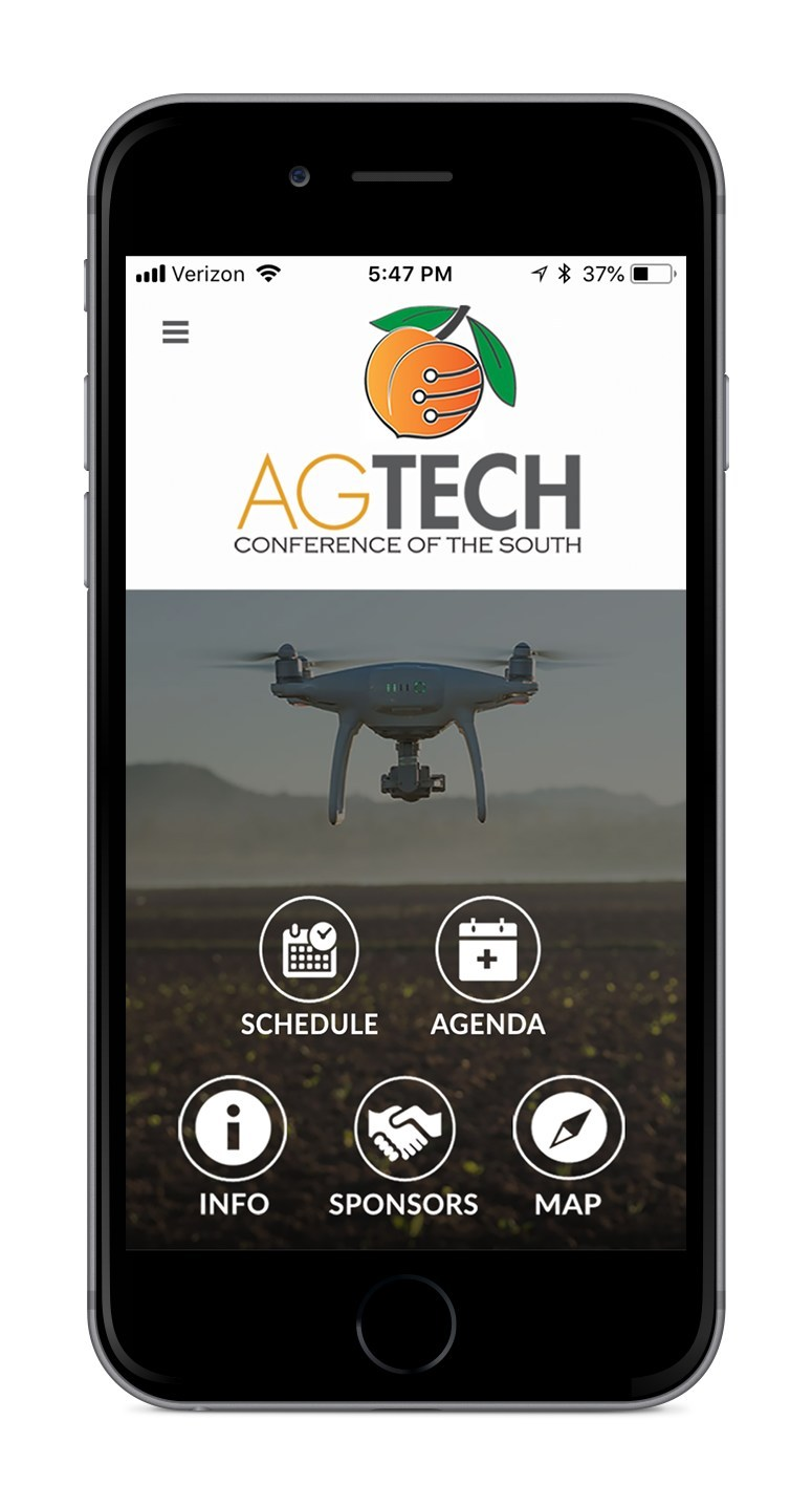 Download the official AgTech Conference of the South app.