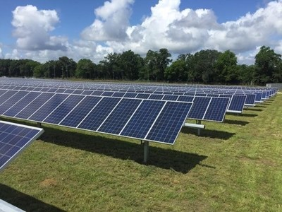 A beautiful day for solar.  Credit: United Renewable Energy