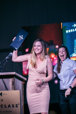 USBG World Class US National Finals Sponsored by Diageo 2018 Winner Laura Newman with World Class 2017 Bartender of the Year Kaitlyn Stewart