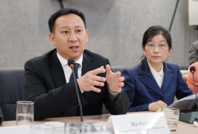 Ma Haixu, President of Huawei Cloud Core Network Product Line (PRNewsfoto/Huawei)