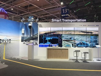 Huawei Smart Airport Visualized Operations Booth (PRNewsfoto/Huawei)
