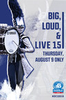 Drum Corps International Marches on as 'Big, Loud and Live 15' Comes to U.S. Cinemas for the 15th Year, Live on August 9