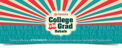College graduates in the Bangor area who are looking for a brand-new car to get to and from a brand-new job can save on Toyota favorites at Downeast Toyota with the Toyota College Graduate Rebate Program.