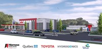 La première station multiénergies permettant le ravitaillement en hydrogène renouvelable verra le jour à Québec (Groupe CNW/Cabinet du ministre de l'Énergie et des Ressources naturelles et ministre responsable du Plan Nord)