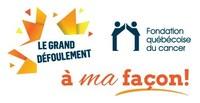 Logo : Le Grand défoulement - Fondation québécoise du cancer (Groupe CNW/Fondation québécoise du cancer)