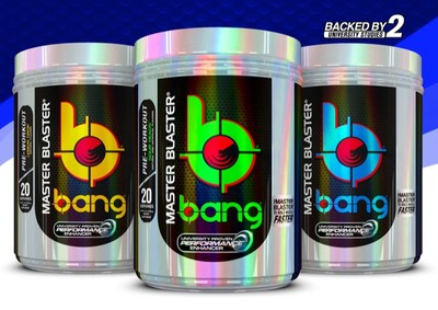 Bang Master Blaster��Pre-Workout Increases Lean Muscle by 6.9 lbs. in 4 Weeks