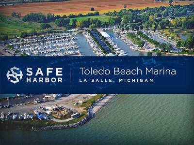 Safe Harbor Marinas acquires Toledo Beach Marina located in La Salle, Michigan.