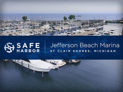 Safe Harbor Marinas acquires Jefferson Beach Marina located in St. Clair Shores, Michigan.