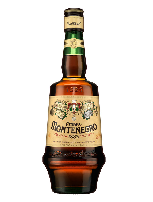 The Amaro Montenegro bottle shape is an icon recognized around the world. It was Amaro Montenegro's founder, Stanislao Cobianchi, who saw the need to create such a shape, one as unmistakable as the liquid it would contain. In 2018 Amaro Montenegro updated this iconic bottle, remaining true to Stanislao's original drawings while featuring a more premium design, a sleeker profile, and a commanding presence on and off the shelf. (PRNewsFoto/Gruppo Montenegro)