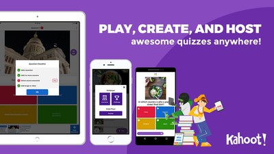 Play, create, and host awesome quizzes anywhere with the Kahoot! app.