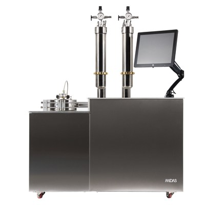 Vanguard Scientific Systems, MIDAS XII Co2 Extraction System (CNW Group/BlissCo Cannabis Corp.)