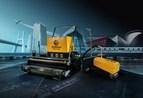 Oriental Yuhong launched intelligent hot-melt waterproofing membrane construction equipment -- HotterMan