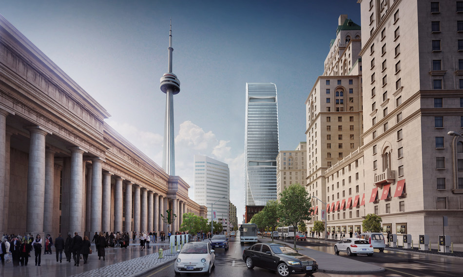 Cadillac Fairview Boosts Investment in Toronto's Downtown with $800 Million Office Tower (CNW Group/Cadillac Fairview Corporation Limited)