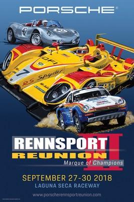 Porsche Unveils Official Poster for Rennsport Reunion VI thumbnail