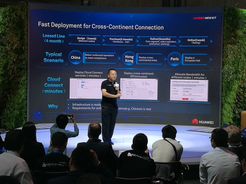 Huawei's Cloud Connect showcase