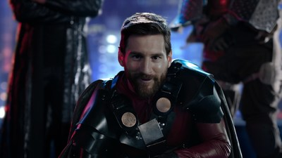 "Leo Messi Kicks Off New ""Enjoy the Internet"" Campaign with Ooredoo"
