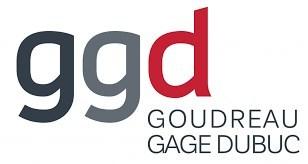 Logo : Goudreau Gage Dubuc (GGD) (Groupe CNW/Lavery)