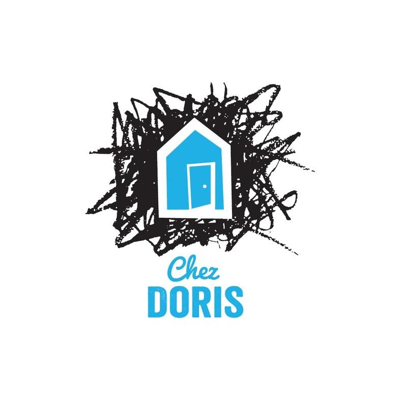 Logo: Chez Doris (CNW Group/Ville de Montréal - Cabinet de la mairesse et du comité exécutif)