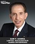 Sam F. Hamra Recognized for Lifelong Dedication to Philanthropy