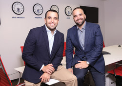 Daniel Vargas, Chief Operating Officer, and Rene Vargas, Chief Executive Officer of Super Restoration.