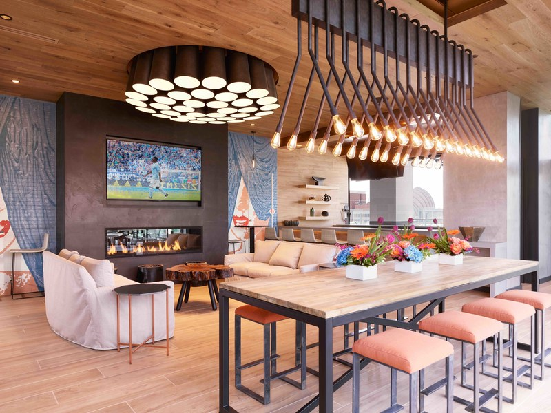 Two Light boasts over 16,000 square feet of indoor and outdoor amenity space that rivals that of any luxury apartment or condo building anywhere in the United States