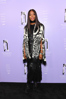 Presenter Naomi Campbell attends The Fragrance Foundation 2018 Awards on June 12 at Lincoln Center's Alice Tully Hall.