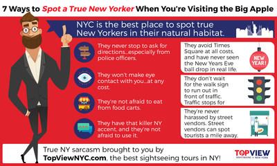 7 ways to spot a true New Yorker