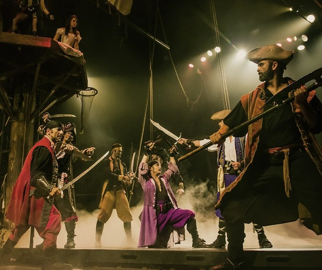 Pirates Dinner Adventure in Orlando, Florida is an adventure-packed and interactive dinner show
